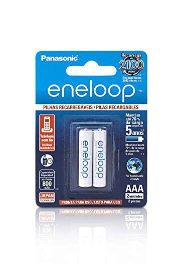 Pilha Aaa C/2 Panasonic Eneloop
