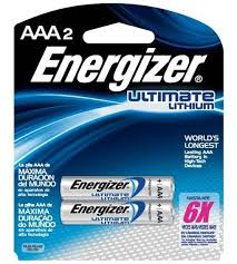 Pilha Energizer Ultimate Lithium 1,5v Aaa Palito C/2