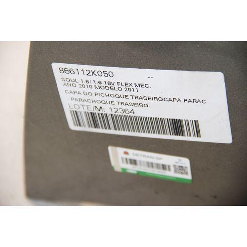 Parachoque Traseiro Soul 1.6 16v Flex Mec 2011 - -12364