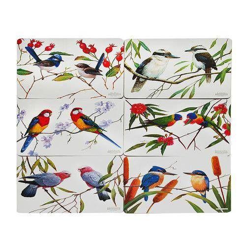 JOGO AMERICANO BIRDS 06 PEÇAS (35 x 28 CM) - MAXWELL & WILLIAMS