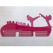 Porta Medalhas Acrílico Capoeira 1