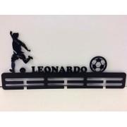 Porta Medalhas Personalizado Acrílico Futebol 5