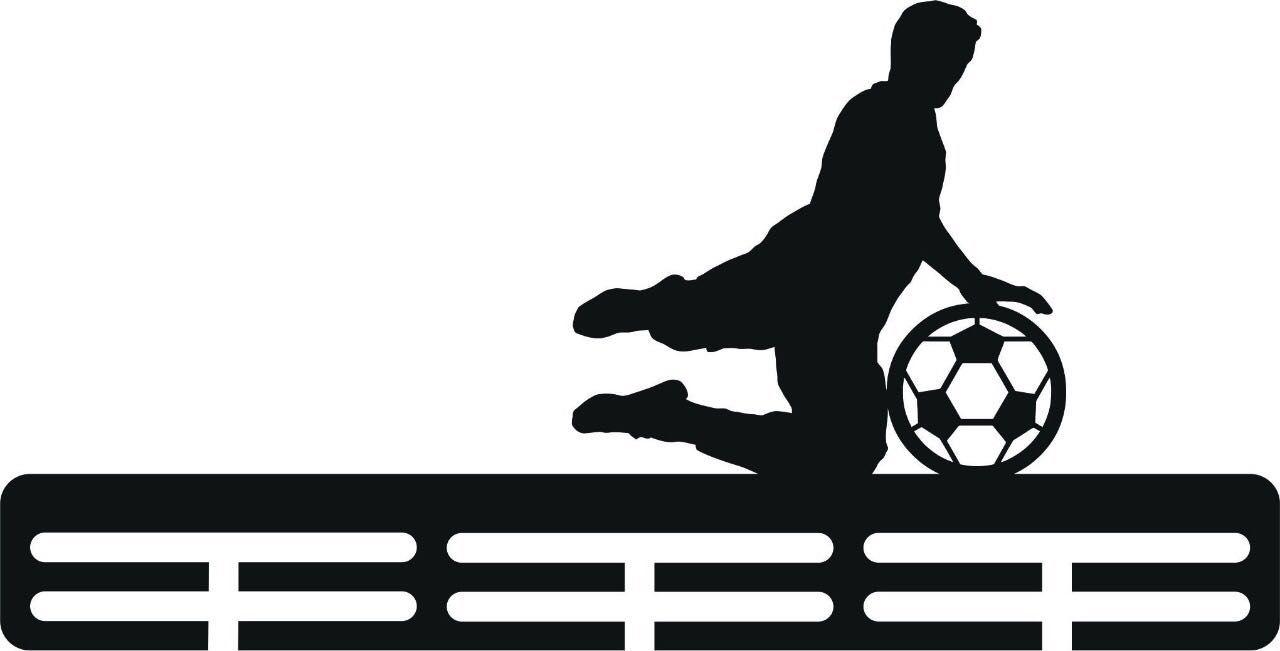 Porta Medalhas Personalizado Acrílico Futebol 6