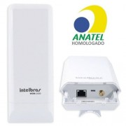 Antena Cpe Wireless N Intelbras Wom 5000 wom5000 5ghz 12dbi 150mbps Access Point Repetidor
