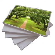 Papel Fotogr�fico 100 Folhas A4 240g Glossy A Prova Dagua