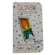 Pel�cula de Vidro Temperado Lisa para Motorola Moto X anti impacto