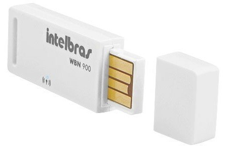 Adaptador USB Wireless WI-FI 150Mbps Intelbras WBN900