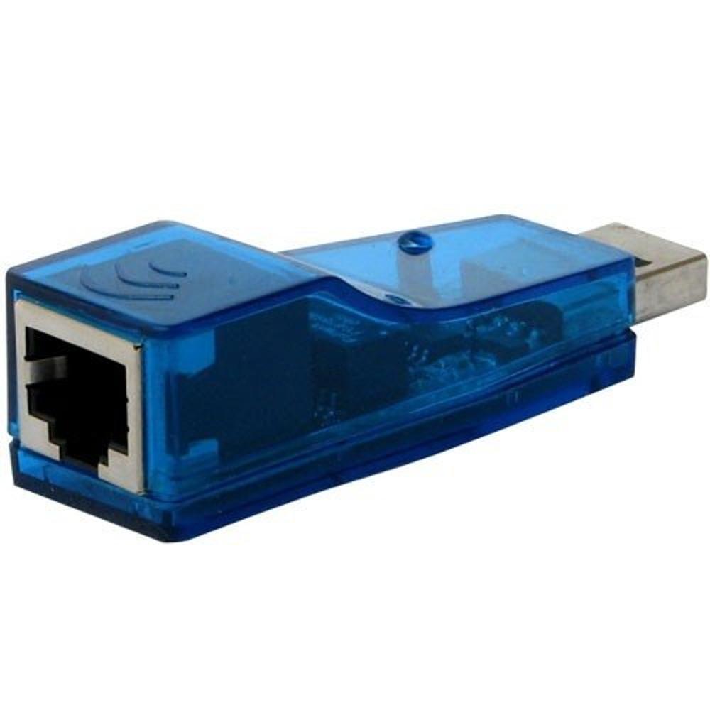 Adaptador de Rede 10/100Mbps USB para RJ45