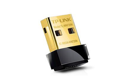Adaptador Nano USB Wireless 150Mbps TL-WN725N TP-Link