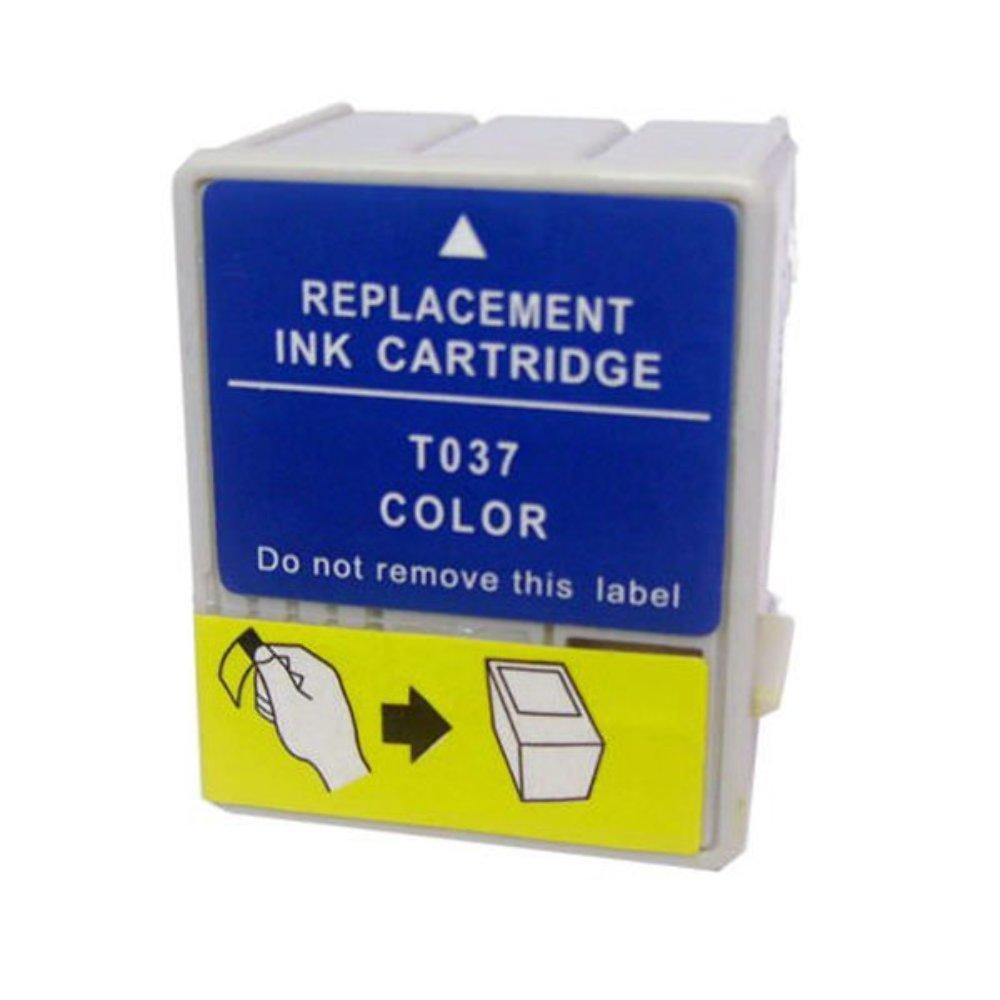 Cartucho EPSON TO37 C42 Colorido 30ml Compatível
