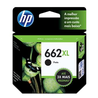 Cartucho HP662XL HP 662XL 6.5ml CZ105AB Preto 2515 2516 3515 3516