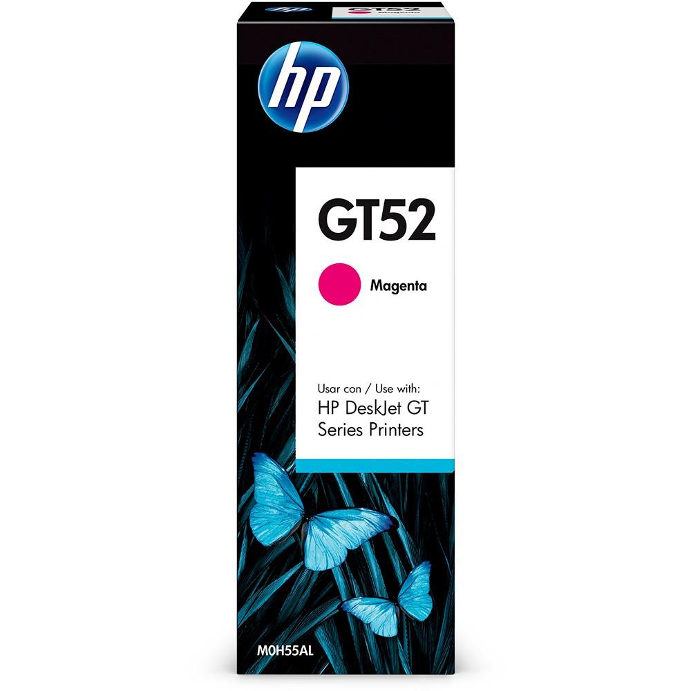 Garrafa refil de Tinta HP M0H55AL GT52 GT 5810 5820 5822 Magenta 70ML