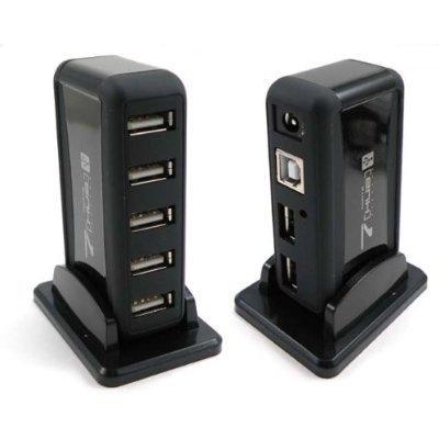 Hub Com 7 Portas Usb 2.0 High Speed 480mbps com Fonte Bivolt