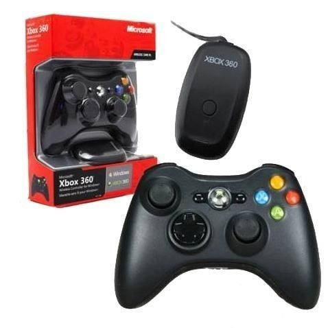 Joystick Sem Fio para XBOX360 e PC wireless Microsoft