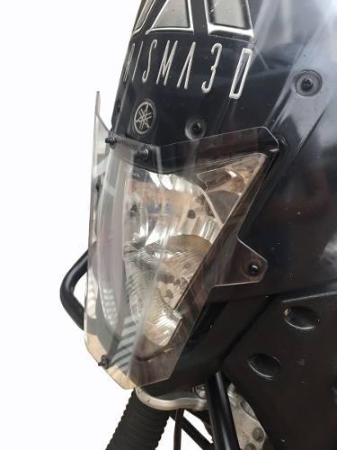 Protetor De Farol Yamaha Teneré 660 Policarbonato