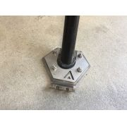 Base Lateral Descanso Extensor Pedal F800gs Extensor Pedal