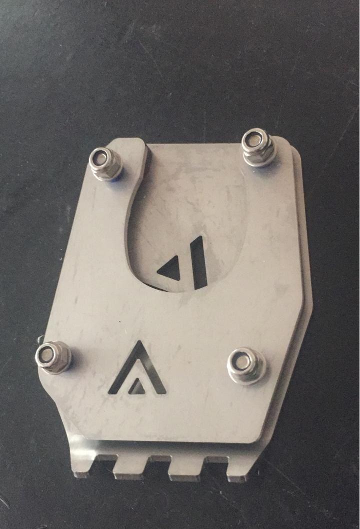 Base Lateral Descanso Extensor De Pedal BMW R1200gs / R1250gs