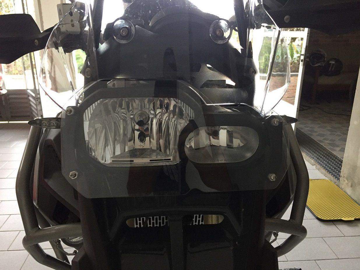 Protetor De Farol Em Policarbonato Bmw F800gs
