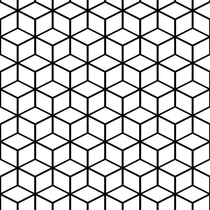 Papel de Parede Vinílico Autocolante Translucent Cube