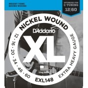 Encordoamento Guitarra 0.12 Daddario Extra Heavy EXL148