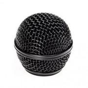 Globo Metálico Preto para Microfone Shure Sm58 Beta 58 Similares MXT
