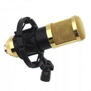 Microfone Condensador Profissional BM-800