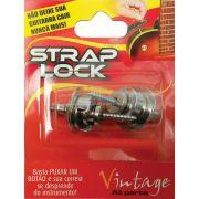 Strap Lock Trava Correia Guitarra Violão Baixo Prata Basso