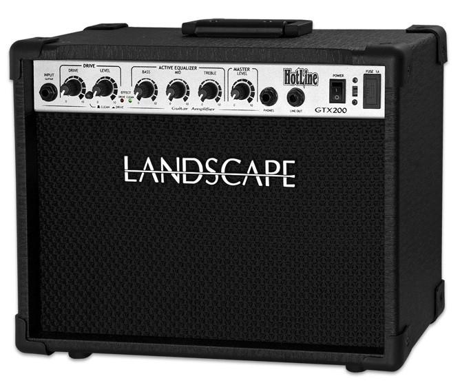 Amplificador Guitarra Landscape GTX200