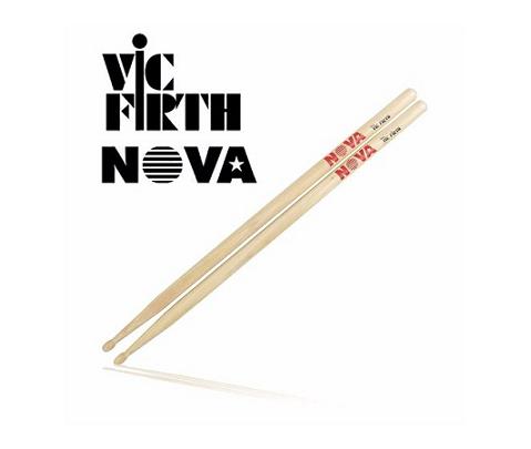 Baqueta Nova By Vic Firth 5a Hickory Ponta Madeira Par