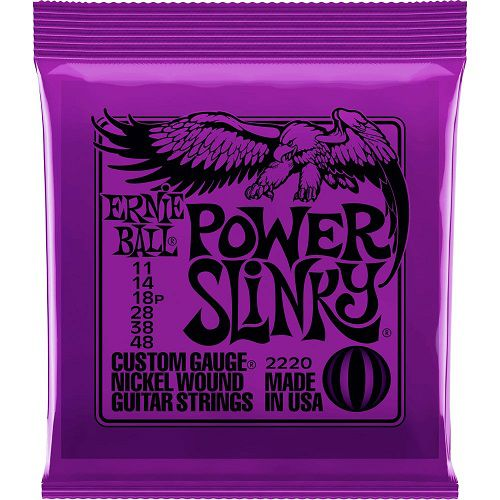 Encordoamento Cordas Ernie Ball Guitarra11 Power Slinky 2220
