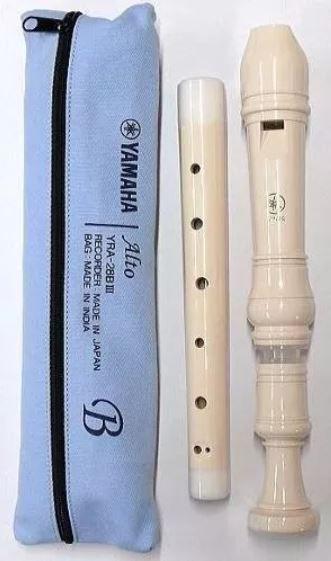 Flauta Doce Contralto Barroca Série 20 Yra-28biii Yamaha