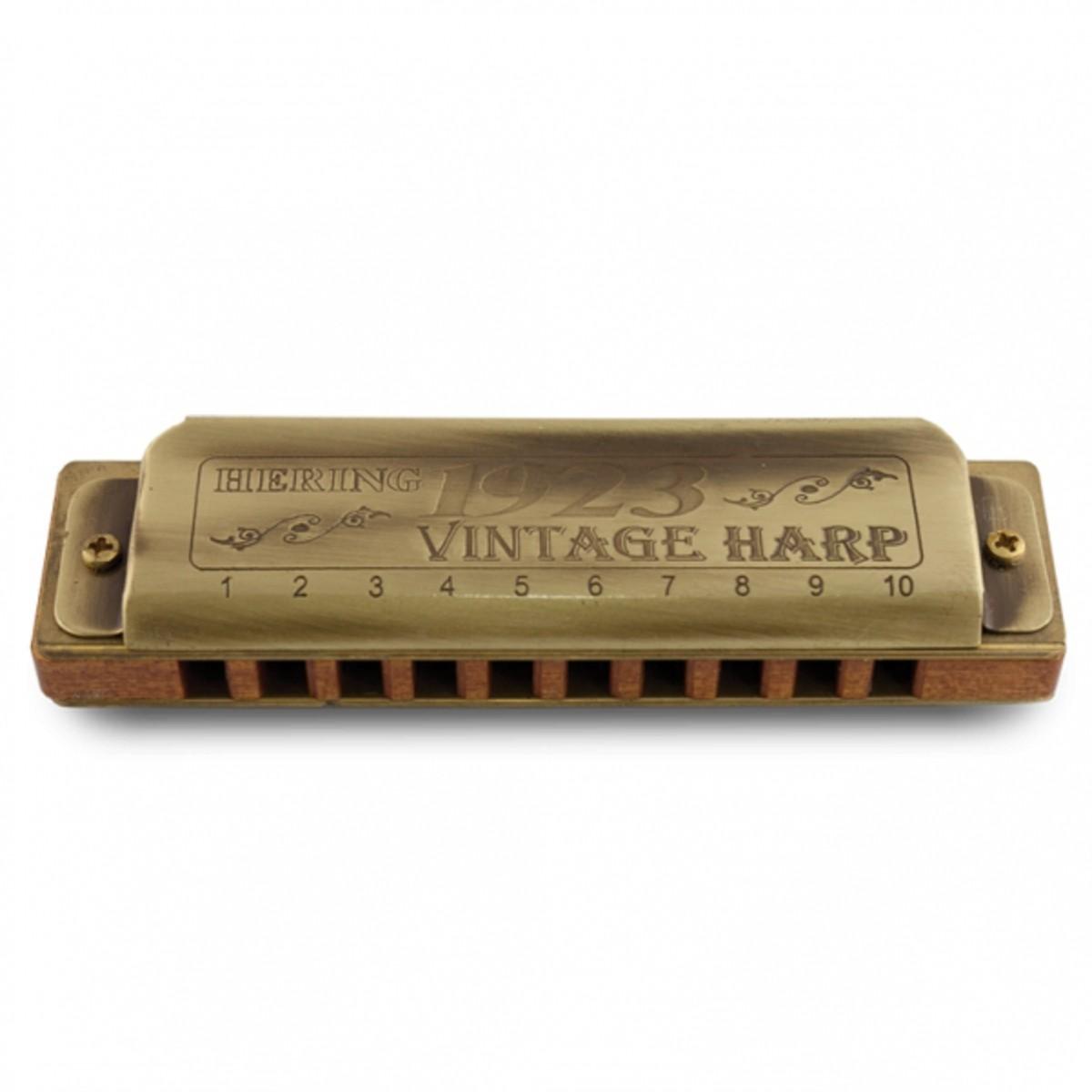 Gaita Vintage Harp C Hering 1020