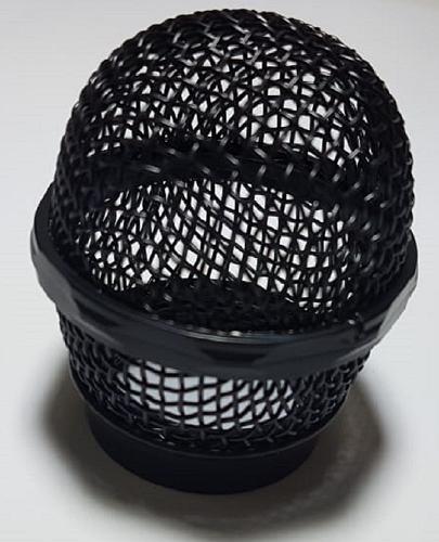 Globo Metálico Para Microfone Preto Shure Sm58
