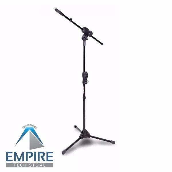 Kit 2 Pedestal Girafa Suporte Universal Microfone Smmax Ibox