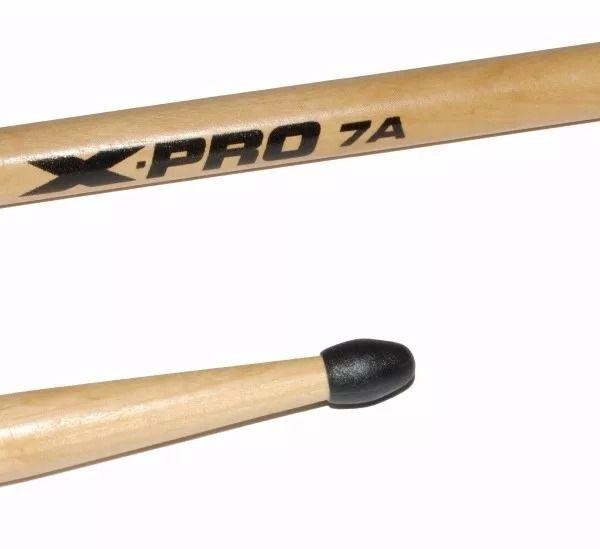 Kit 3 Pares Baqueta 7an Nylon + 2 7a Madeira X-pro C. Ibanez
