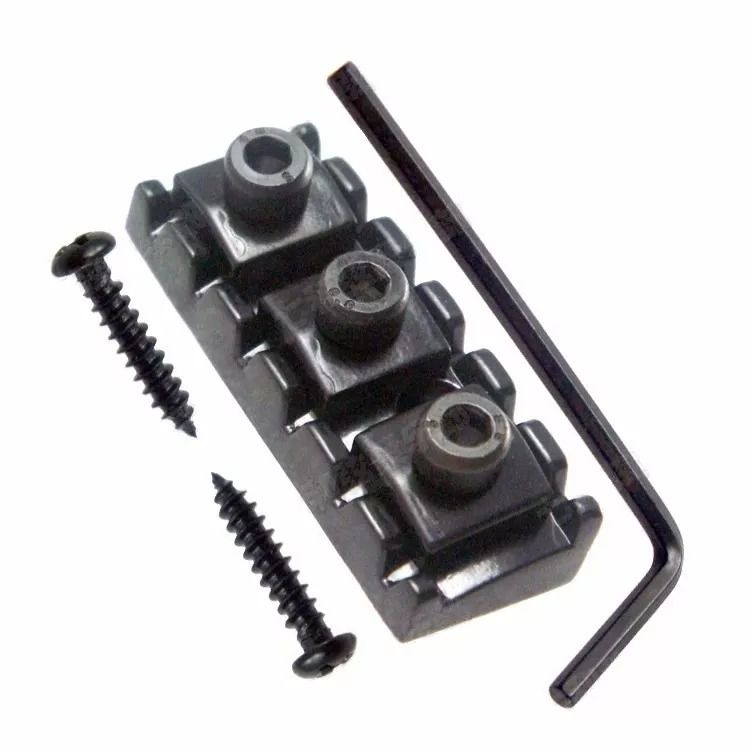 Locknut Pestana Trava Cordas 43 Mm Preto Floyd Rose