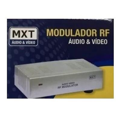 Modulador Rca Audio Video Para Rf Original MXT