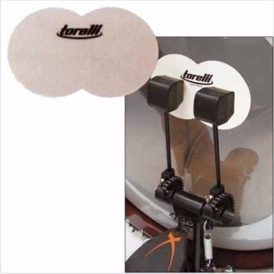Protetor Pele Bumbo Pedal Duplo Torelli TA080