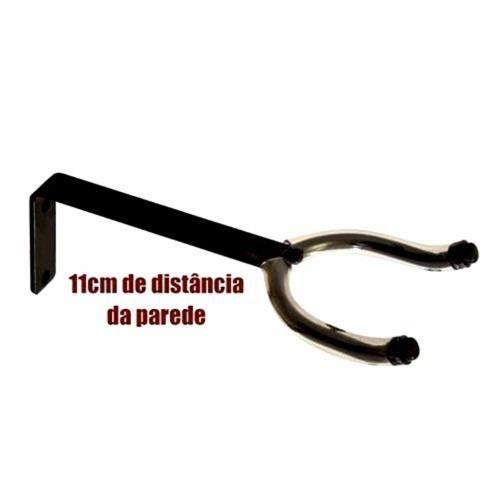 Suporte De Parede Instrumento Corda Violão Guitarra Visão