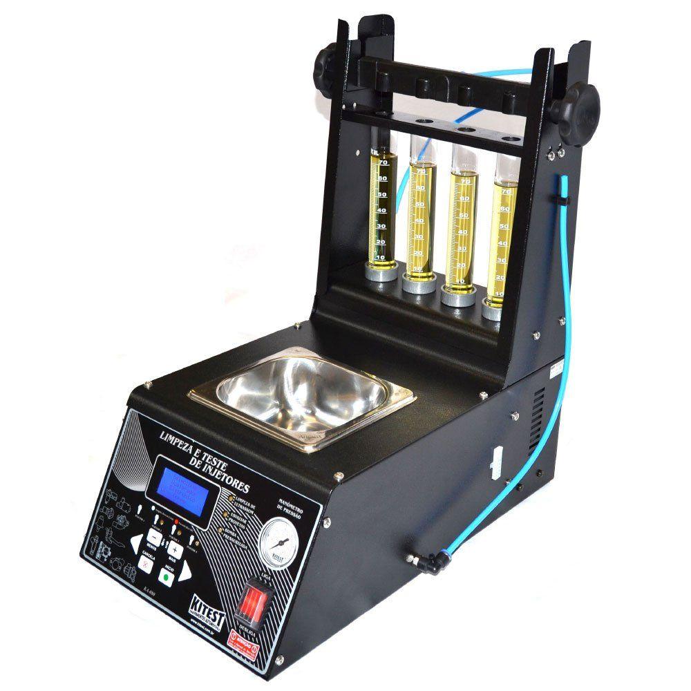 Máquina de Limpeza e Teste de Bicos Injetores - KITEST KA080/1L