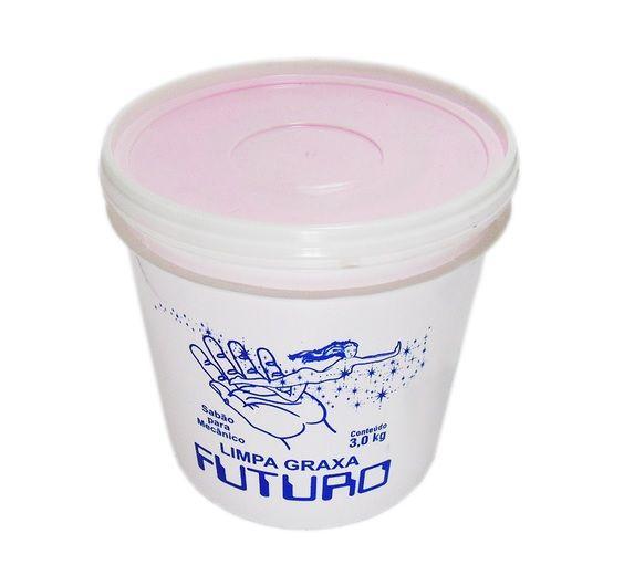 Sabão Creme Esfoliante Limpa Graxa Futuro 3kg