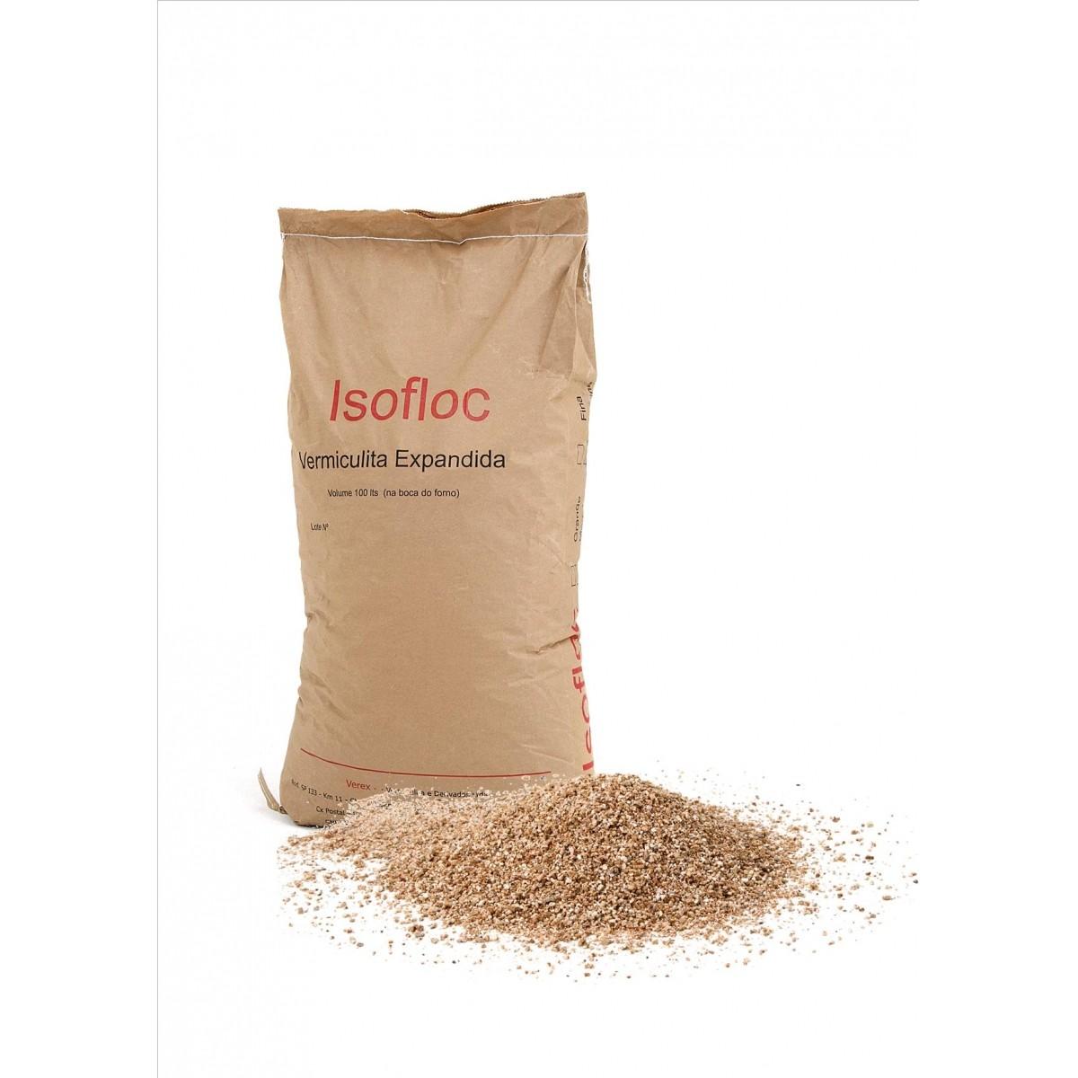 Isolante Térmico Vermiculita saco com 10kg