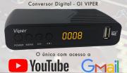 CONVERSOR GALAX C/ WI-FI + ANTENA DE TV SIMPLES