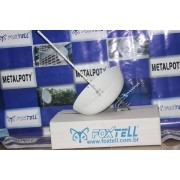 Kit Antena com Bacia 24DBi 1800 a 2100 Mhz