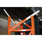 Torre Estaiada Galvanizada 40x40x40 C/ Pintura E Parafuso Orgânico