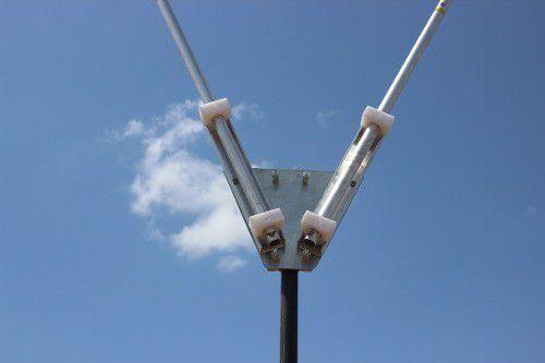 Antena Dipolo Rigida Em V 90º - 10/80 Hf