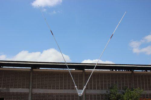 Antena Dipolo Rigida Em V 90º - 10/40 Hf