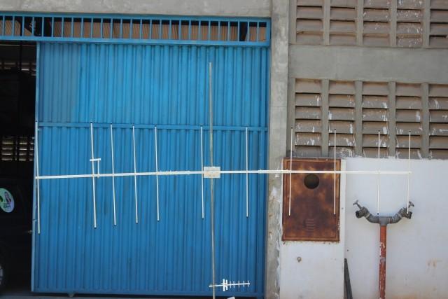 Antena VHF Direcional 11 Elementos - 3Mt 12 DBI