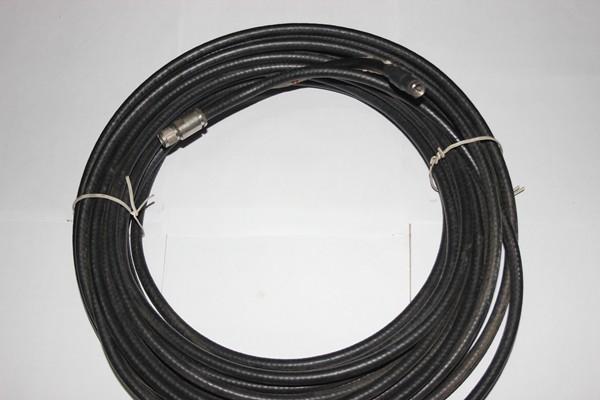 Cabo Coaxial Rg11 75 Ohms 90% De Malha Com Conector FT/TNC 15 Met