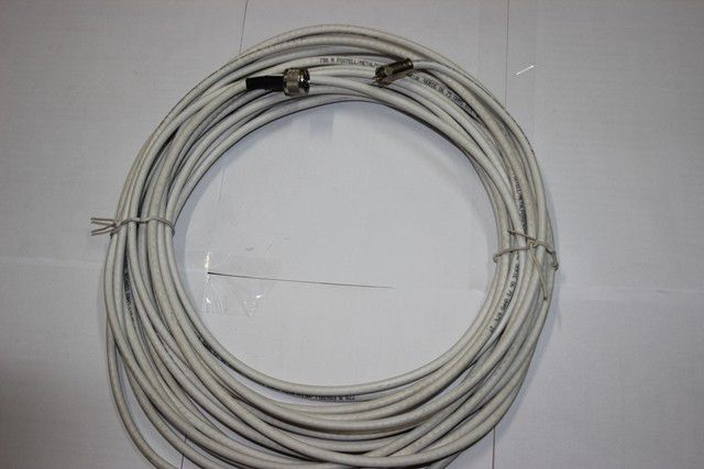 Cabo Coaxial Rg6 Com Conector FT/N 15 Met